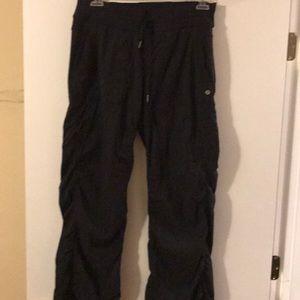 Lululemon black size 12 Zumba dance pants